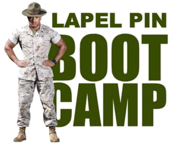 Lapel Pin Boot Camp - Learn About Lapel Pins