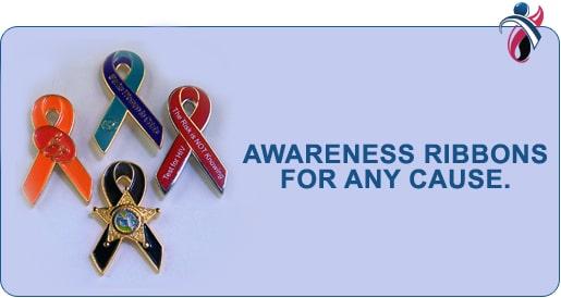 Awareness Ribbons Pins