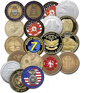Custom Challenge Coins | The Pin People