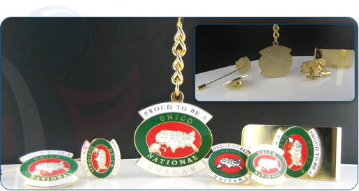 Club Pins and Association Pin Image