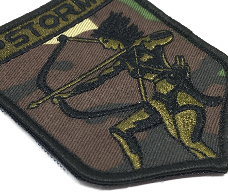 Custom Designed Embroidered Patches