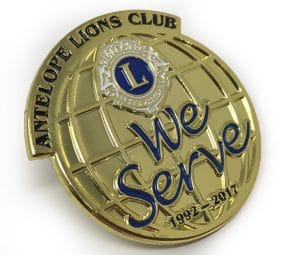 Lions Club Lapel Pins