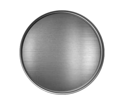 Antique Silver Round Pin