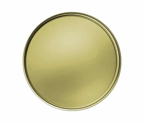 Round Gold Plating
