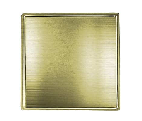 Antique Gold Square Pin