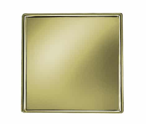 Square Gold Pin