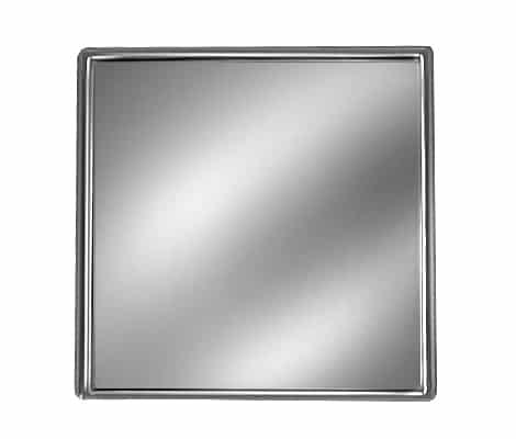 Silver Square Pin