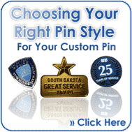 Find the correct Lapel Pin Style