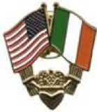 Irish Flag Pin Cutouts Example