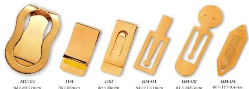 Money Clip Option Examples