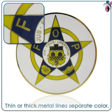 Metal Lines Separate Color