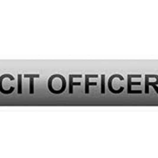 CIT - Crisis Intervention Team Citation Bar
