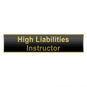 High Liabilities Instructor – Citation Bar