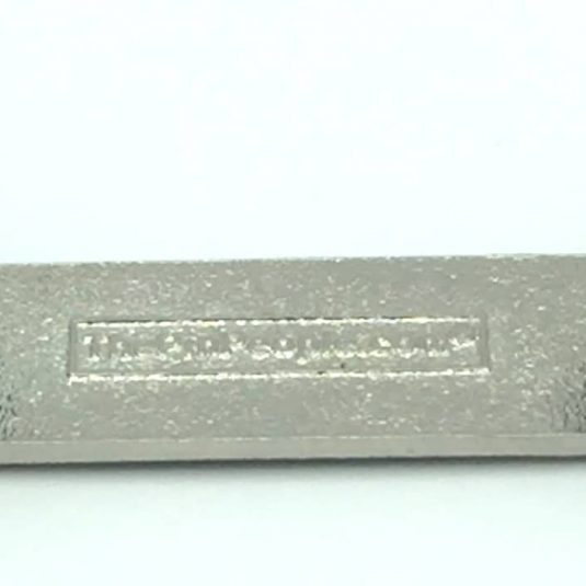 Back of Silver Citation Bar With Double Posts
