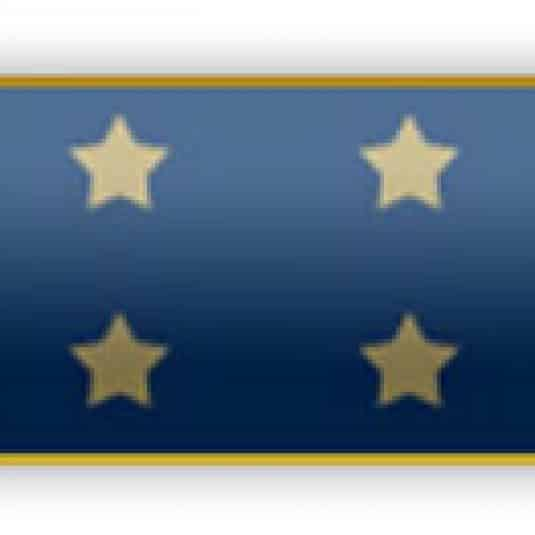 Blue Medal Of Honor Award Bar