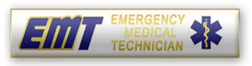 EMT Emergency Medical Technician Citation Bar