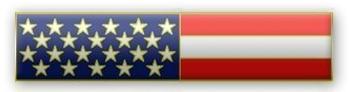 USA Flag Citation Bar