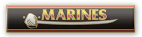 Marine Corps Citation Service Bar