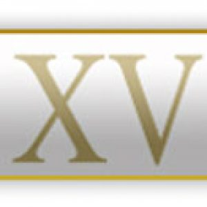 XV Roman – 15 Years Of Service – White Citation Bar