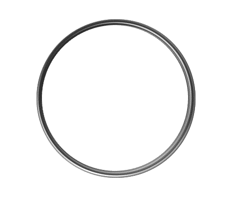 1 Inch Round Silver Lapel Pin